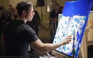 Doug Belding, Art Battle NS 2014 Finals